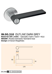 IN.00.310 OUTLINE DARK GREY