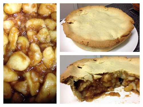 Today is all about..home-made apple pie