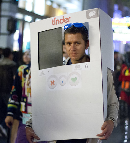 Tinder costume by San Diego Shooter, on Flickr