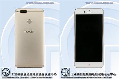 努比亞新機NX569H亮相工信部:支持指紋識別