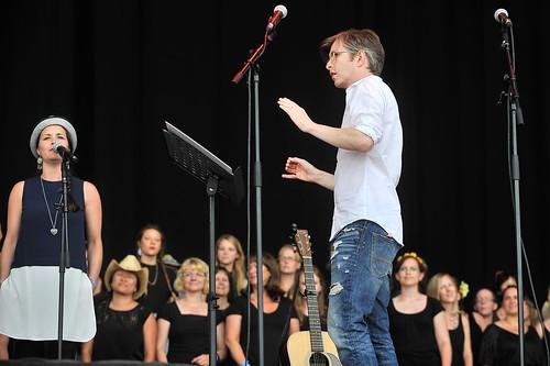 Gareth Malone at Latitude Festival 2015
