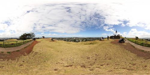 Mt Eden Aussichtsplattform Panorama