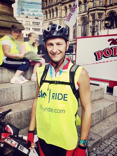 Today is all about...Chris and his SkyRide