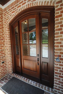 Arched Top Mahogany Door#langecustoms