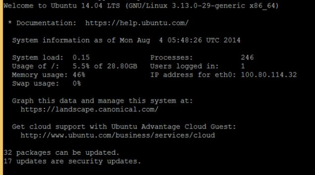 Number of Linux Package can be update
