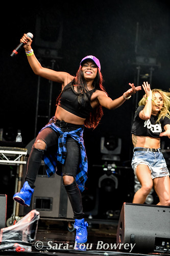 Lady Leshurr at Bestival 2016