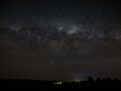 Lighting and Milky Way