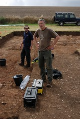 "West Kennet dig, 2014 • <a style=""font-size:0.8em;"" href=""http://www.flickr.com/photos/96019796@N00/14684857737/"" target=""_blank"">View on Flickr</a>"
