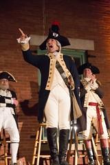 Marquis de Lafayette Addresses the Audience
