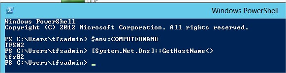 Powershell Get Current Computer Name