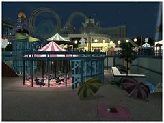 Sims 3 manèges