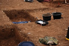 """West Kennet dig, 2014 • <a style=""""font-size:0.8em;"""" href=""""http://www.flickr.com/photos/96019796@N00/14684705480/"""" target=""""_blank"""">View on Flickr</a>"""