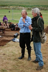 "West Kennet dig, 2014 • <a style=""font-size:0.8em;"" href=""http://www.flickr.com/photos/96019796@N00/14684781188/"" target=""_blank"">View on Flickr</a>"