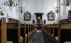 Openmonumenten klassedag Bunschoten - School met de Bijbel Eemdijk bezoekt de Hervormde Kerk in Bunschoten.
