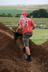 "West Kennet dig, 2014 • <a style=""font-size:0.8em;"" href=""http://www.flickr.com/photos/96019796@N00/14684757839/"" target=""_blank"">View on Flickr</a>"