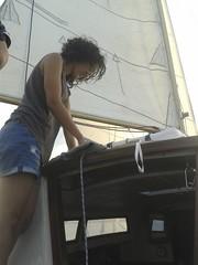 Anissa à la nav