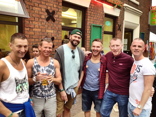 Today is all about...Sunday @ Manchester Pride
