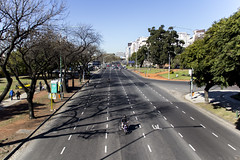 Avenue in Buenos Aires