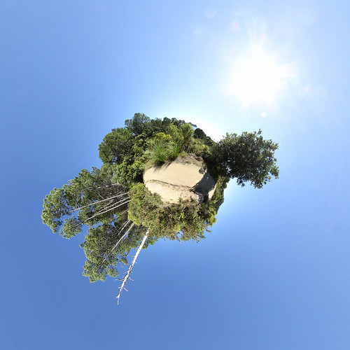 Cathedral Cove Walkway - Little planet