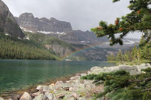 Boom lake Alberta Canada, by davebloggs007, on Flickr