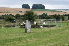 """West Kennet dig, 2014 • <a style=""""font-size:0.8em;"""" href=""""http://www.flickr.com/photos/96019796@N00/14891238773/"""" target=""""_blank"""">View on Flickr</a>"""