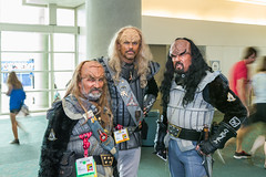 "Klingons! SDCC 2014 • <a style=""font-size:0.8em;"" href=""http://www.flickr.com/photos/33121778@N02/14611535809/"" target=""_blank"">View on Flickr</a>"