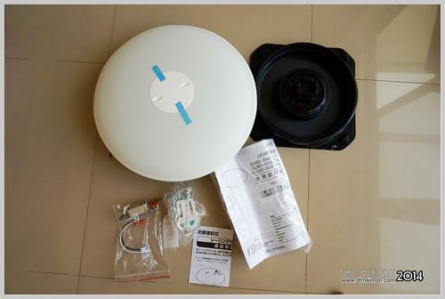 [3C開箱][生活資訊] IRIS遙控可調光LED吸頂燈CL12D-SGE-TW換裝::開箱文總部 :: 開箱王