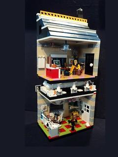 Lego Mini Office Block