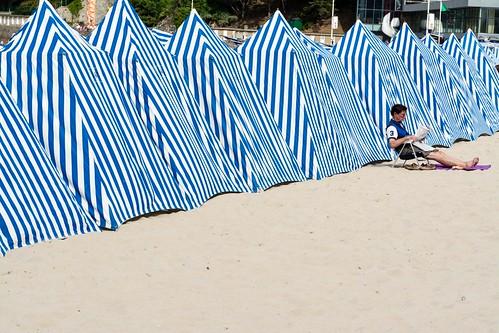 La plage de Dinard