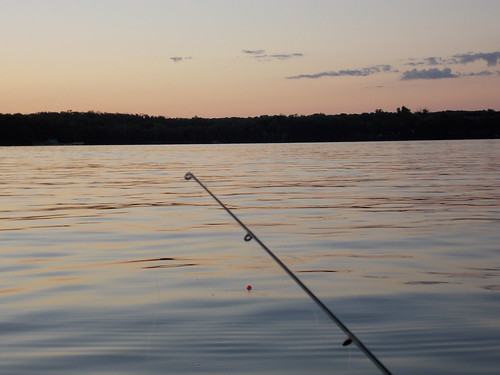 Fishing- Sunset over Carlos
