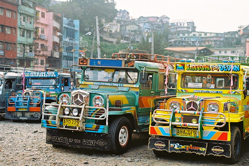 Jeepneys by Ellen Munro, on Flickr