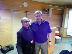 "Prof. Yaír Hazán Psych. D. & President of IAIP Prof. Dr. Wilfred Datler • <a style=""font-size:0.8em;"" href=""http://www.flickr.com/photos/52183104@N04/14499781280/"" target=""_blank"">View on Flickr</a>"