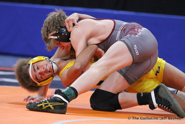 120AAA - 3rd Place Match - Colby Njos (Anoka) 44-3 won by decision over Zach Smith (Prior Lake) 32-7 (Dec 8-1)
