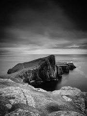 "Neist Point II, Skye (Mono) • <a style=""font-size:0.8em;"" href=""http://www.flickr.com/photos/26440756@N06/14805933046/"" target=""_blank"">View on Flickr</a>"