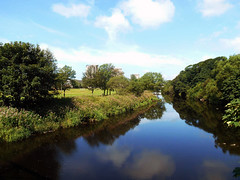 """The River Irvine - Looking North from the Foulertoun Arches • <a style=""""font-size:0.8em;"""" href=""""http://www.flickr.com/photos/36664261@N05/14717010877/"""" target=""""_blank"""">View on Flickr</a>"""