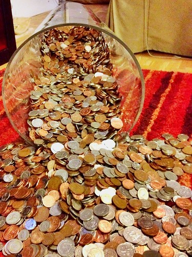 Today is all about...project coin counting