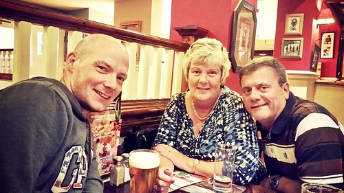 Today is all about...carvery with the family