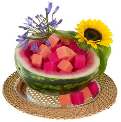 Essence of Melon — Leanne and David Kesler, Floral Design Institute, Inc., in Portland, Ore.
