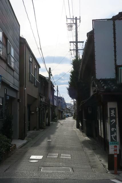 須坂の路地