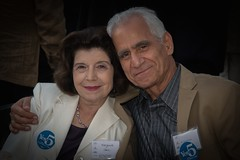 Marguerite and David Odeh (Photo by Jen Bonin)