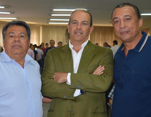 Luís Carlos Miranda, Paolo Bassetti e Adiel Oliveira 1