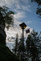 lamp post.