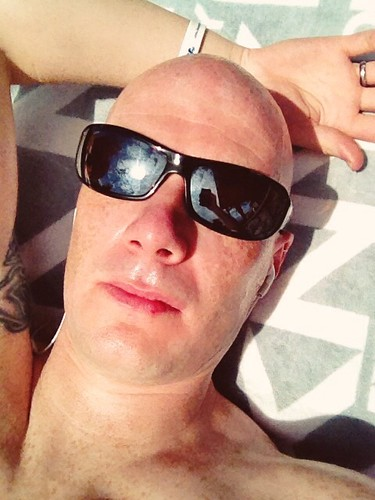 Today is all about...three song turn sunbathing