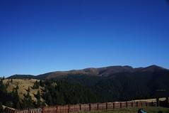 Culmea Gropșoarele văzută de la cabana Ciucaș