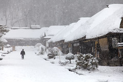 """Ouchi-juku in snow. • <a style=""""font-size:0.8em;"""" href=""""http://www.flickr.com/photos/63389963@N08/33542232370/"""" target=""""_blank"""">View on Flickr</a>"""