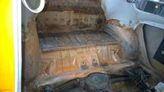 Back Seat/Carpet Removed
