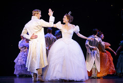Andy Jones and Paige Faure in Rodgers + Hammerstein's Cinderella presented by Broadway Sacramento at the Sacramento Community Center Theater May 12 – 17, 2015. Photo by Carol Rosegg.