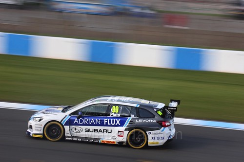 Jason Plato during qualifying during the BTCC Weekend at Donington Park 2017: Saturday, 15th April