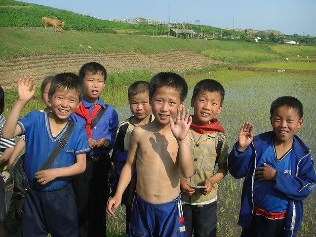 North Korean Children.