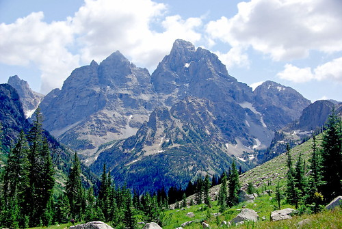 Peaks from Cascade Canyon - Grand Teton National Park